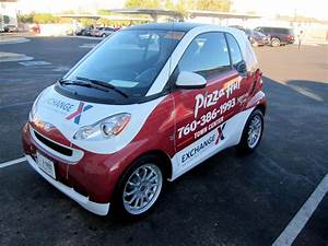 Pizza Hut Smart Car Wraps By Iconography