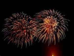 Exploding Fireworks Animation