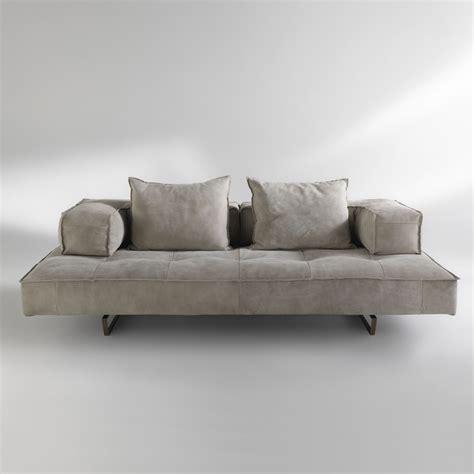 Divano Moderno In Pelle - divano componibile design moderno cardo rivestimento in pelle