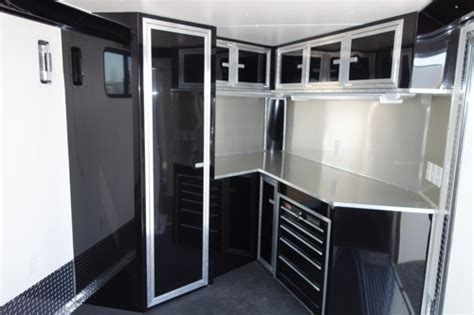 V Nose Enclosed Trailer Cabinets by Enclosed Trailer V Front Enclosed Trailer Enclosed Html