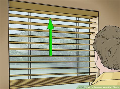 how to remove blinds from window how to remove venetian blinds 9 steps with pictures