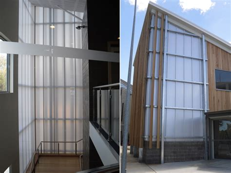 palram curtain wall partition projects