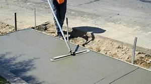 Faire Une Chape Exterieur : sup rieur faire une dalle beton pour terrasse 6 prix de ~ Premium-room.com Idées de Décoration