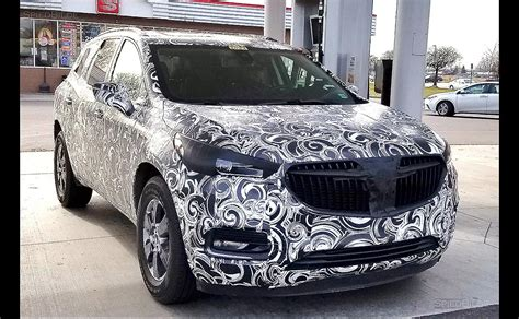 2018 Buick Enclave Spy Photo Seems To Confirm Previous