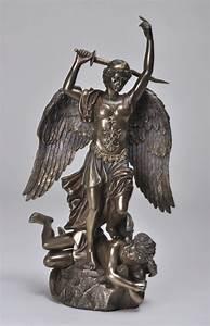 Arch Angel Michael Demon Slayer Statue