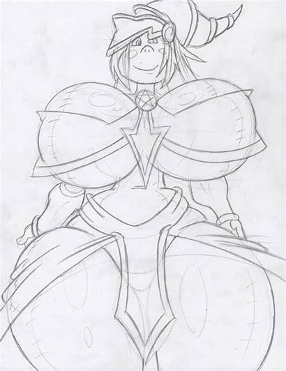 Magician Dark Sketch Dollified Yu Gi Oh