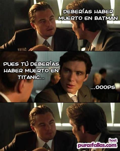 Memes Dicaprio - otro meme de leonardo dicaprio y cillian murphy puras fallas