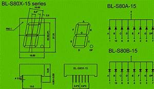 0 80 Inch Single Seven Segment Led Display Circuit And