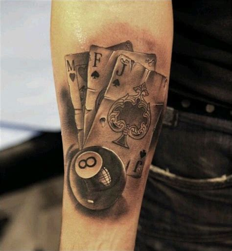 gambling tattoo cool pinterest gambling tattoos
