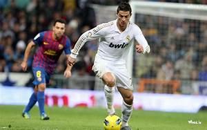 Cristiano Ronaldo Playing Football