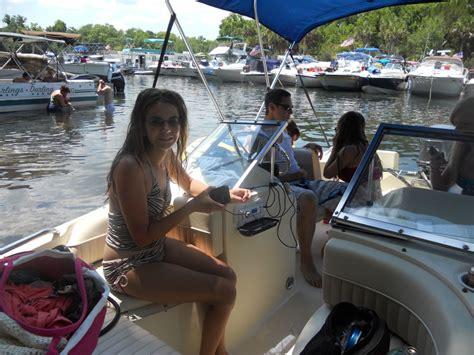 sandbar parties boating raft boat hull truth lake fl george thehulltruth lets fishing go reply jacksonville