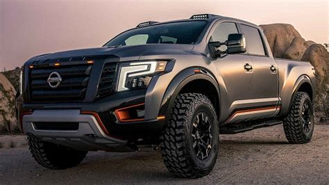 nissan titan completely redesign super duty pickup