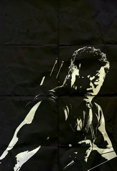Hawkeye Avengers Poster Marvel Comics Superhero Movie