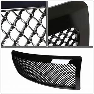 2014 Ford F150 Hid Fog Lights 2009 14 Ford F150 Honeycomb Mesh Front Grill Grille Black