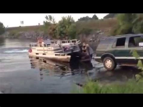 Epic Pontoon Boats by Boat Launch Epic Fail Lol