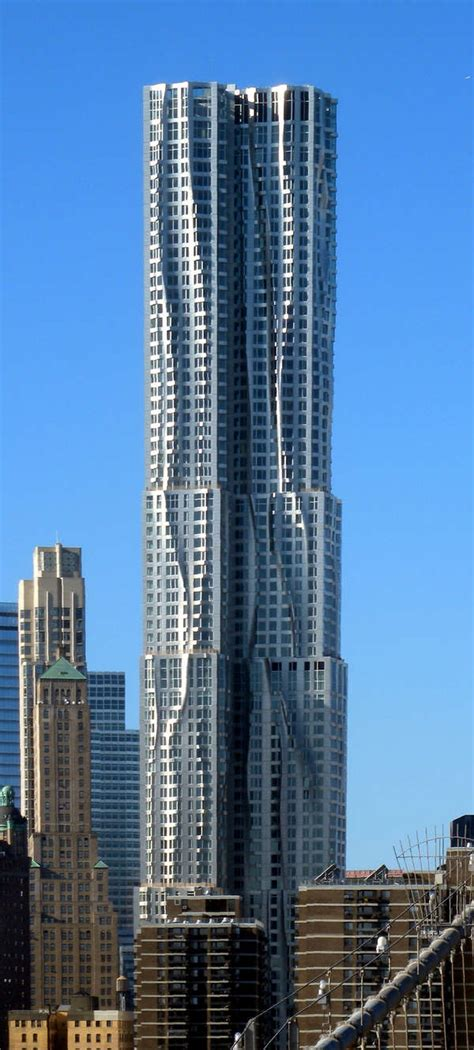 Beekman Tower (8 Spruce Street) In New York By Frank Gehry