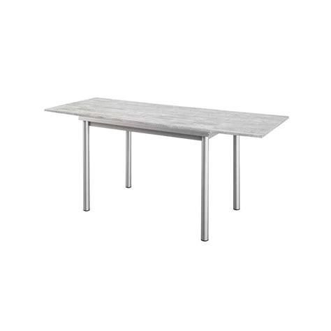 cuisine intemporelle table de cuisine en stratifié basic avec rallonges 4