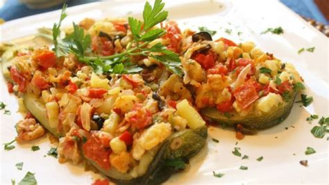 Zucchini Boat Recipes On The Grill by Zucchini Boats On The Grill Recipe Allrecipes