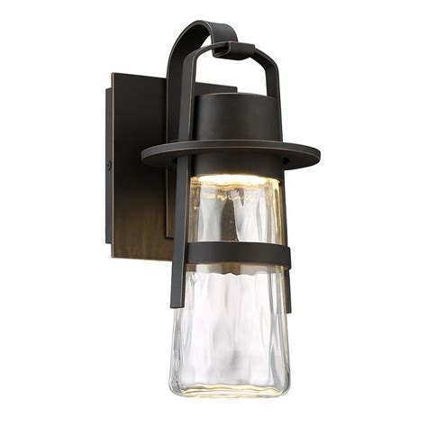 balthus outdoor wall light by modern forms ws w28514 orb