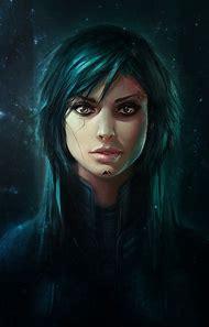 Female Digital Art Cyberpunk