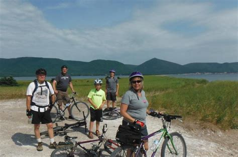 atlantic fisheries bike    cabot trail tourism