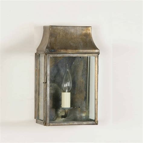 the limehouse l company strathmore 462 solid brass wall lantern small