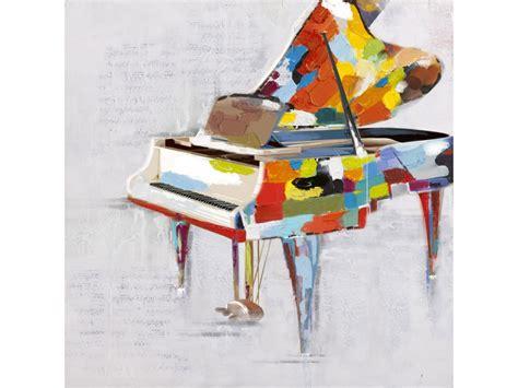 sur canapé peinture à l 39 huile sonate 60 60cm tableau multicolore