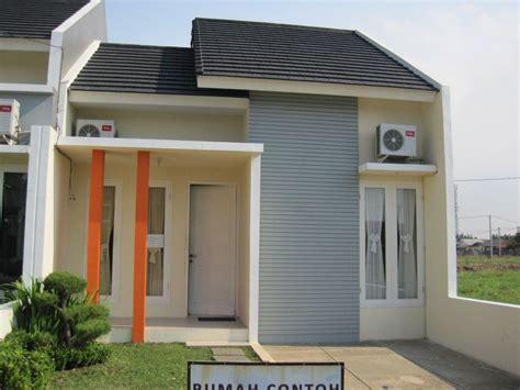 contoh desain rumah idaman cantik sederhana renovasi rumahnet