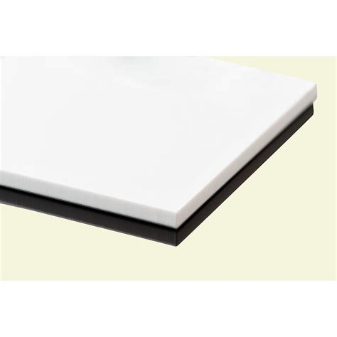 plexiglas 48 in x 48 in x 1 8 in white acrylic sheet