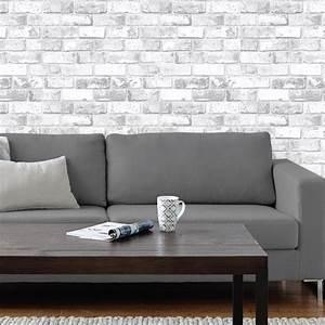 Papier Peint Effet Lambris : best 25 papier peint effet brique ideas on pinterest ~ Zukunftsfamilie.com Idées de Décoration
