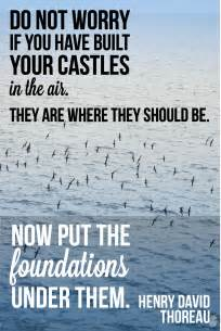 quotable quotes thoreau s castles in the air partners for peace