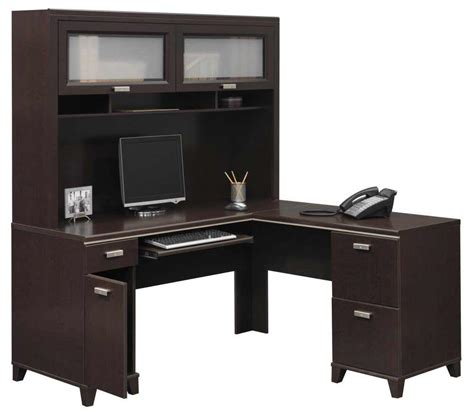 desk l with outlet and organizer innovative l shaped desk with storage