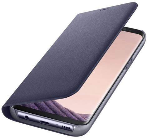 s 8 kaufen samsung handytasche 187 led view cover ef ng950 f 252 r galaxy s8