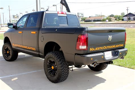 truck car black chrome matte vinyl orange metallic matte chrome film auto