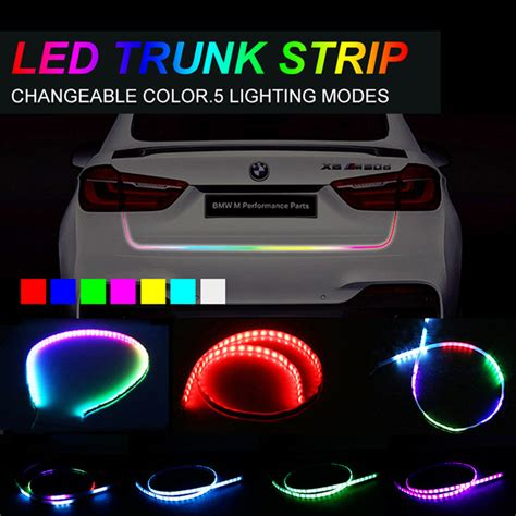led pour interieur voiture aliexpress buy okeen rgb led for car tailgate turning signal light bar trunk