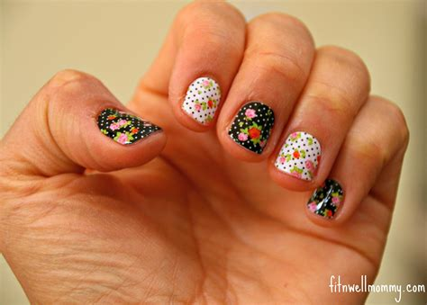 jamberry nails review  giveaway deliciously fit