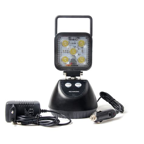 5 led 15w rechargeable offroad car led work light