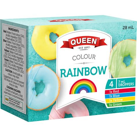 food colors food colouring assorted food colours 4pk woolworths