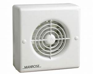 Manrose Xf100auto 4 U0026quot  Auto Shutter Axial Bathroom