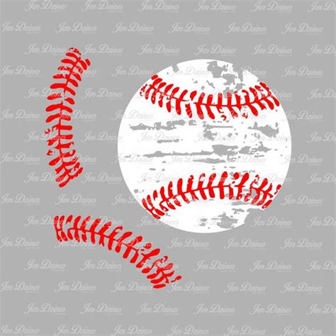 Softball distressed. Laces clip art