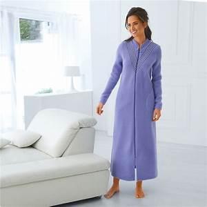 Robe De Chambre Pas Cher : robe de chambre zipp e blancheporte ~ Teatrodelosmanantiales.com Idées de Décoration