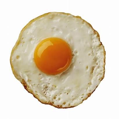 Egg Fried Transparent Eggs Background Boiled Half