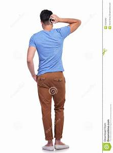 Young Confused Casual Man Scratching His Head Stock Photo ...