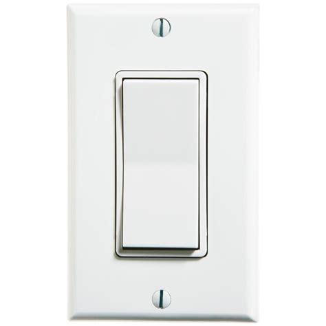 rocker light switch leviton self powered wireless push on remote rocker