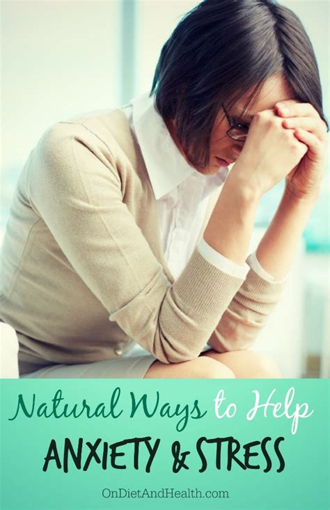natural ways   anxiety  stress