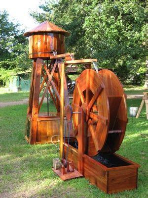 water tower  water wheel  joy mahon flickr photo