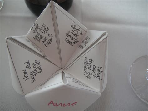 origami fortune fun diary   amateur crafter