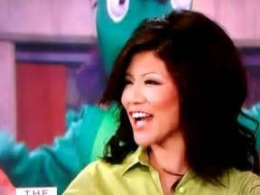 Julie Chen tongue action- The Talk - YouTube