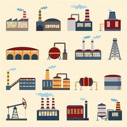 Factory Vectors Freepik Industrial Vector Building Illustration