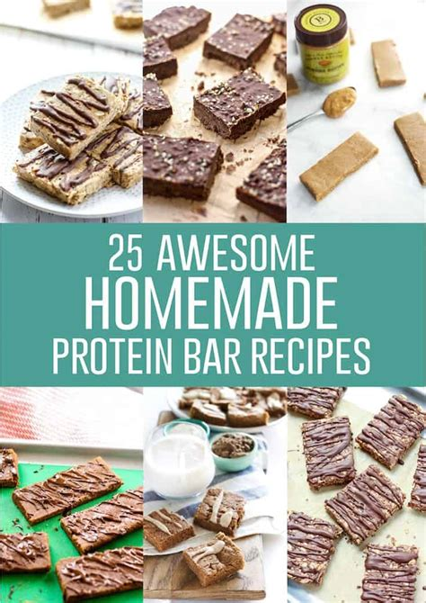 awesome homemade protein bar recipes fit mitten kitchen